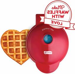 Dash DMW001HR Mini Heart Maker Waffle Iron Shaped Goodness,