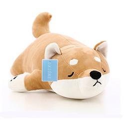 "21.6"" Dog Plush Doll Stuffed Shiba Inu 3D Animal Zoo Pet T"