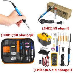 Electric Soldering Iron Gun Tool Kit 110V 60W Welding Desold