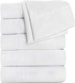 Utopia Bedding Flat Sheet 24 Pack Brushed Microfiber - Soft,