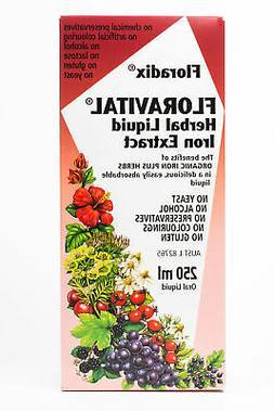 NEW Floradix Floravital Herbal Iron Extract Liquid Supplemen