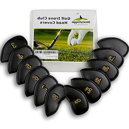 SteadyDoggie Sports & Outdoors Golf Irons Head Covers