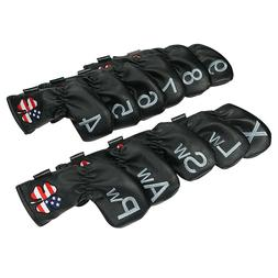 Golf Head Covers Iron Club Cover For Callaway  Taylormade Pi
