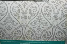 WESTEX GRAY & WHITE DAMASK DELUXE  EXTRA THICK IRONING BOARD