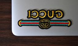 Gucci Style Vintage Iron On Applique/Embroidered Patch Fabri
