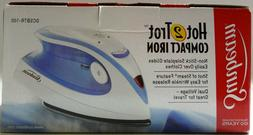 Sunbeam Hot-2-Trot 800W Compact Non-Stick Travel Iron Dual V