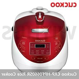 CUCKOO CRP-HPF0660SR Induction Heating Pressure Rice Cooker