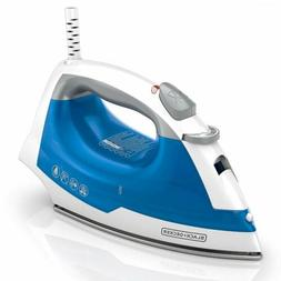 BLACK+DECKER IR03V  Easy Steam Compact Iron, Blue, New, Free