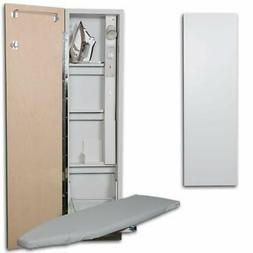 Iron-A-Way AE-46-L 46 Inch Built-In Swiveling Ironing Board