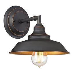 Westinghouse Iron Hill Indoor, Oil Rubbed Finish with Highli