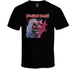 Iron maiden Purgatory T-shirt Black Men S-234XL ZZ584