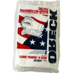 ORECK IRON MAN ORIGINAL BAGS  #PKIM76.5 Size: 10 PACK, Model