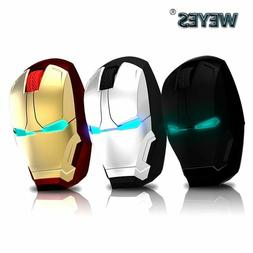 Iron Man Mouse Wireless Mouse Gaming Mouse gamer Mute Button