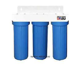 Iron/Sulfur Removal Whole House Water Filter System for Drin