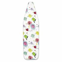 Ironing Board Cover Premium Scorch Resistant Padded Extra Th