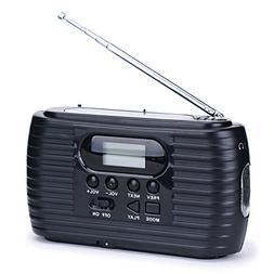 iRonsnow IS-023 Emergency Solar Hand Crank radio Dynamo 2500