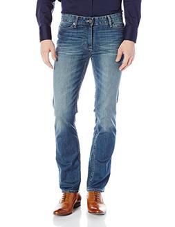 Calvin Klein Jeans Men's Straight Leg Jean, Authentic Blue,