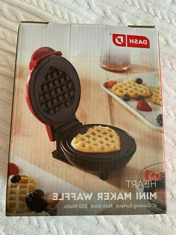 Kitchen Red Belgian Waffle Top Appliance Maker Machine Like