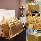 100*150cm Rectangular Sequin Tablecloth Table Cloth Wedding