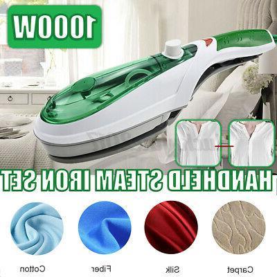 1000w electric steam iron hand handheld fabric