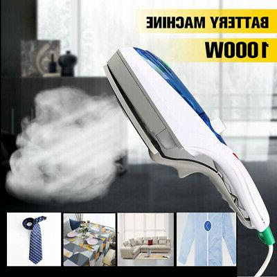 1000w electric steam iron handheld fabric clothes