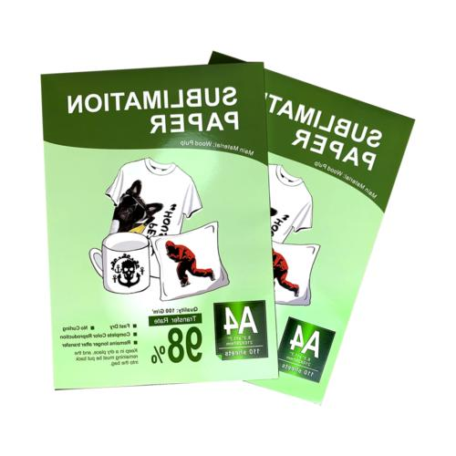 110 A4 Sublimation Paper Heat Transfer Inkjet T-Shirt