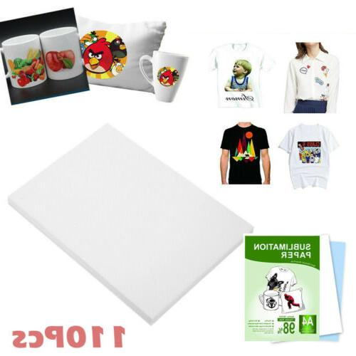110 sheets a4 dye sublimation paper iron