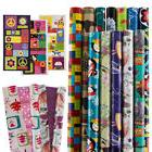 12 Rolls All-Occasion Wrapping Paper Bulk Set Variety Pack G