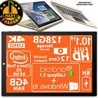 "128GB! Tablet Dual Boot 10.1"" FHD Intel 64bits 64GB HDMI 4GB"