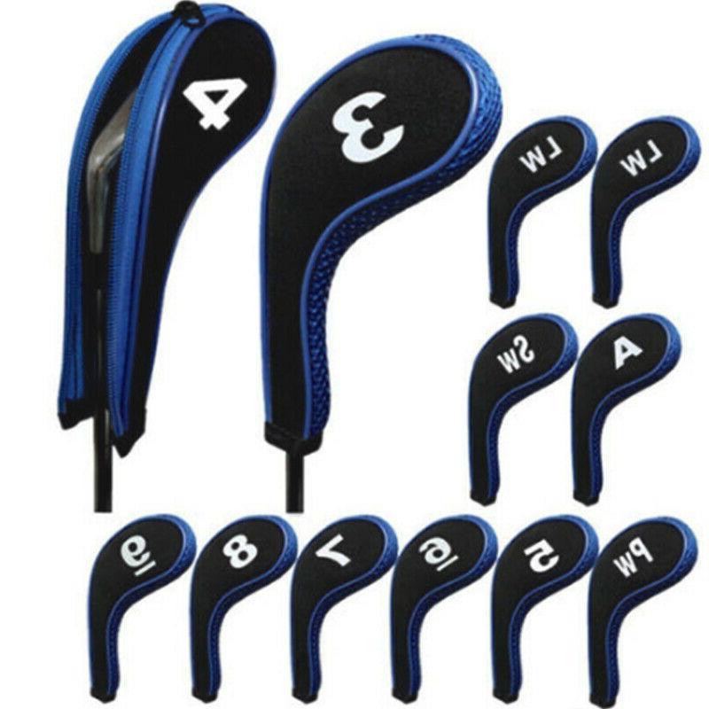12Pcs/Set Number Golf Club With Zipper US