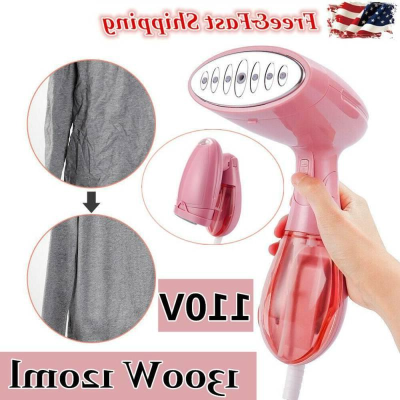 1300w 120ml foldable handheld fabric clothes steamer