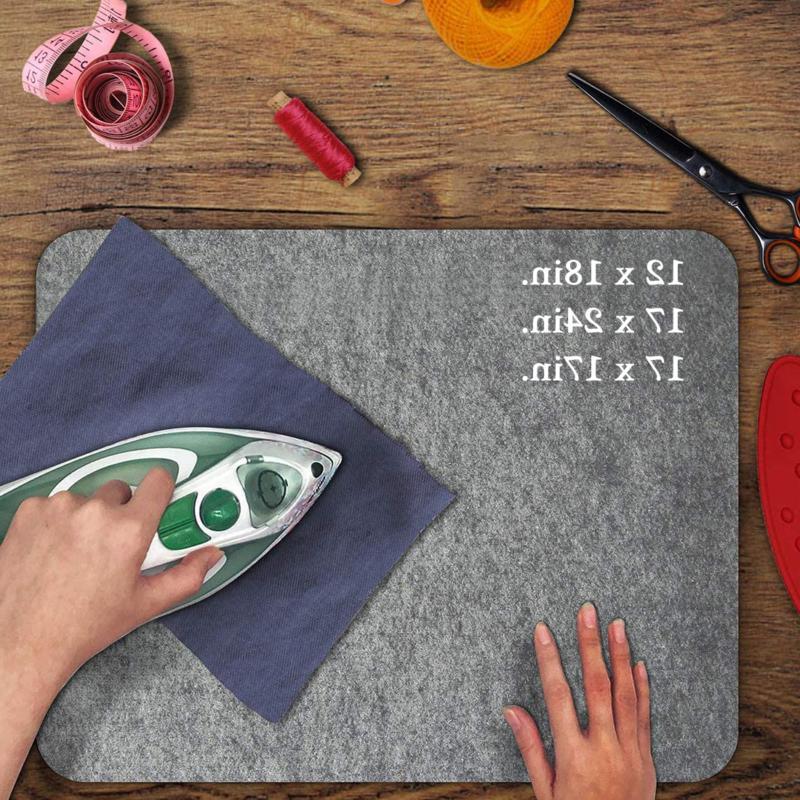17 x24 wool press mat pad ironing