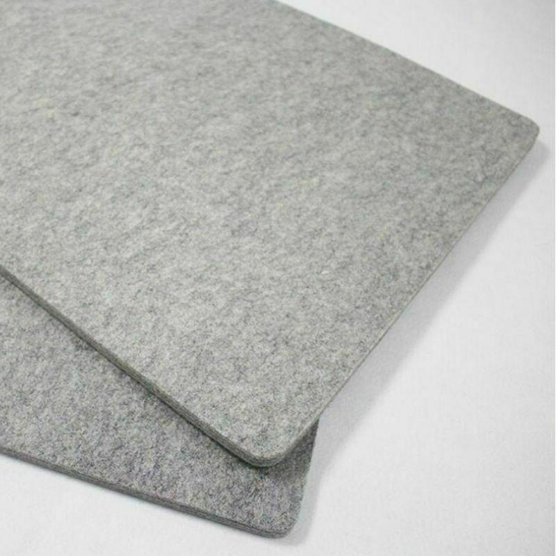 """17""""x24"""" Wool Pad 100% New Zealand Pressing"""