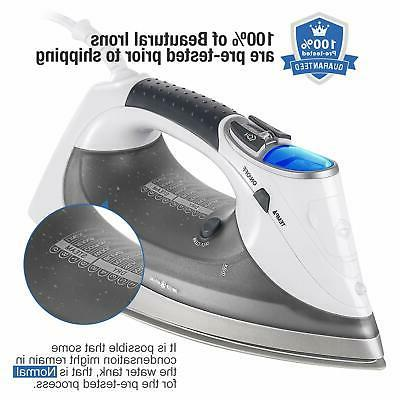 Beautural Steam Iron with LCD Double-Layer and