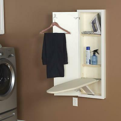 Household In-Wall Ironing Board with