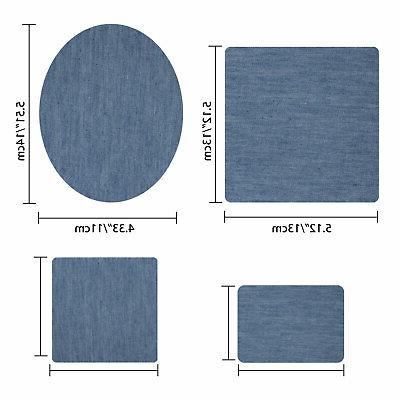 20pcs Denim Fabric for Clothing Jeans 5