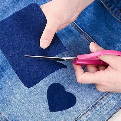 20pcs Denim Patches for Clothing Jeans Kit 5