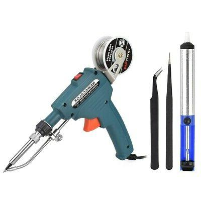 220V 60W Handheld Send Tin Soldering Gun Electric Iron Station