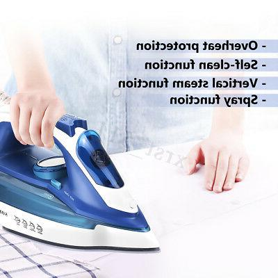 2400W Wireless Handheld Spray Fabric Clothes Ironing Steamer