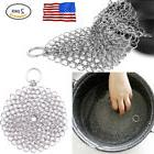 316 Cast Iron Stainless Steel Kitchen Cleaner Brush Scrubber