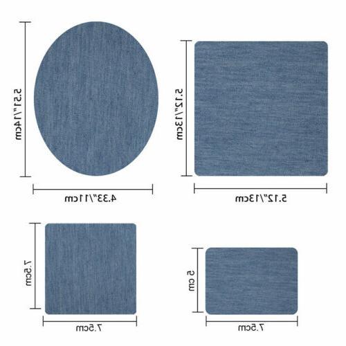 5 Iron on Fabric for Clothing Kit(20pcs )