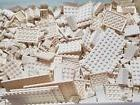 LEGO 50 White Parts Tiles Plates Slopes Random Pull Mix