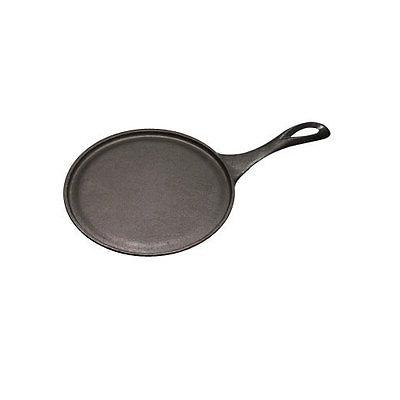 7 round cast iron serving griddles w