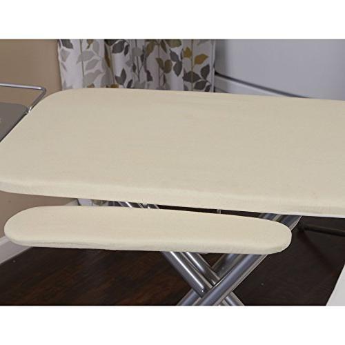 Household 971840-1 Wide Top 4-Leg Mega Board Adjustable and Bonus | Natural