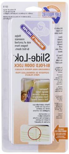 Mommy's Helper Slide-Lok Bi-Fold Door Lock
