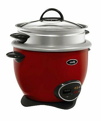 Oster CKSTRCMS14-R 7-Cup uncooked resulting in 14-Cup cooked