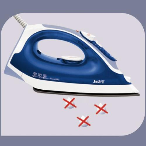 T-fal FV3756 Iron Non-Stick Soleplate with Anti-Drip System 1400-Watt,