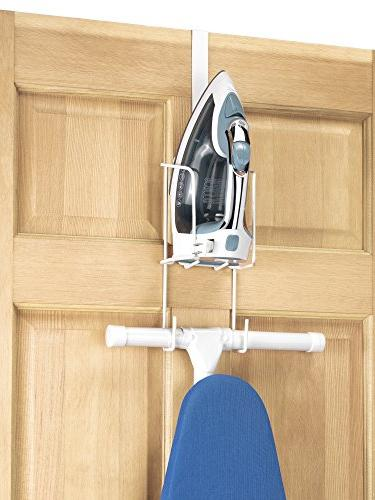 Whitmor The Door Ironing Caddy Iron and Storage