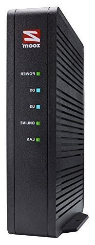 Zoom 16x4 Cable Modem, 686 Mbps DOCSIS 3.0, Model 5370, Cert