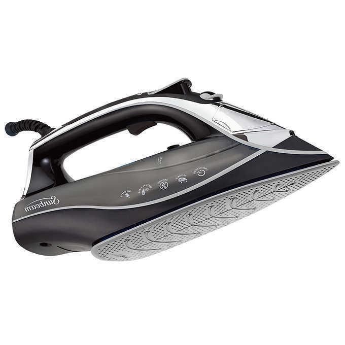 aero ceramic soleplate digital iron variable steamcontrol